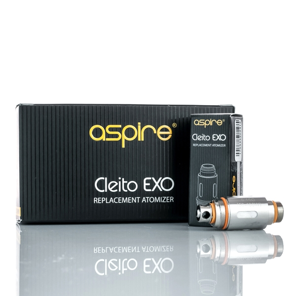 ASPIRE CLEITO EXO REPLACEMENT COILS 0.16 ohm (PACK OF 5)