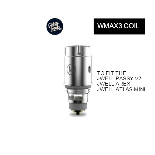 J WELL WMAX3 COILS (Pack of 5) UK SUPPLIER